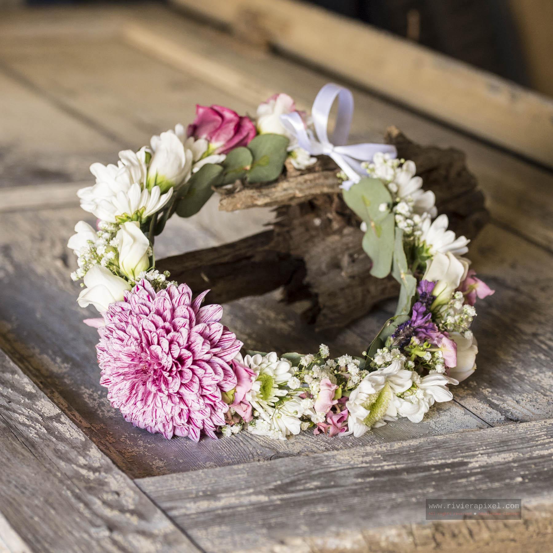 commander couronne de fleurs hippie chic style boho bobo photographe evjf marseille aix en. Black Bedroom Furniture Sets. Home Design Ideas